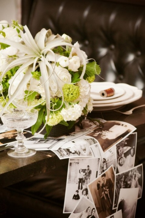 DIY-vintage-photo-table-runner-531x800